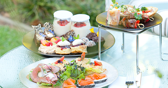 Low Carb High Tea at The Cellars-Hohenort
