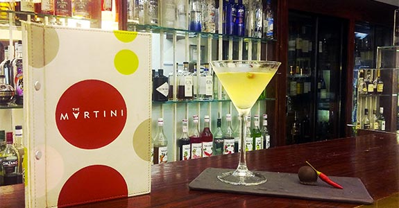 Recipe: White Chocolate & Chilli Martini