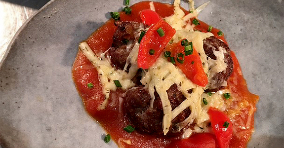 Recipe: Lamb Frikkadels with spiced tomato relish