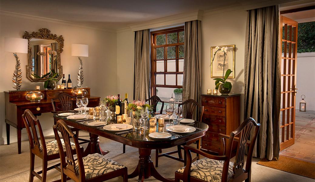 Madiba Villa Dinner